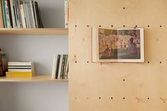 An Organizer's Dream: An Art Studio With Color-coded Built-in Storage