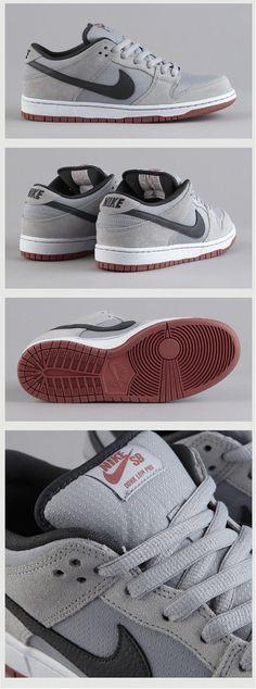 Nike SB Dunk Pro Low: Wolf Grey