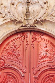 ~beautiful coral door~