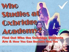 Who Studies at Oxbridge Academy? by Oxbridge Academy via slideshare Study, Movies, Movie Posters, Films, Film Poster, Popcorn Posters, Cinema, Film Books, Film Posters