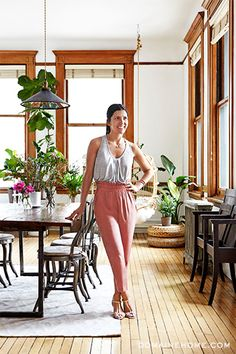 HOME TOUR: A FASHION DESIGNER'S AIRY SOHO LOFT--image via Domaine