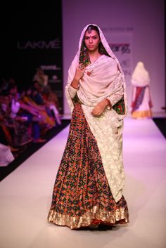 Lakmé Fashion Week – Gaurang Shah at LFW WF 2013