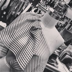 afternoon draping...