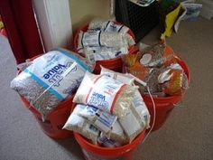 Storing Beans and Rice #preparedness