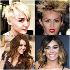 Is Miley Cyrus ready to change her short 'do?! Wonder what style she'll rock next! #Camaraflash #Musica #Entretenimiento