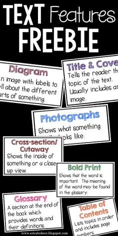 teaching text features in the class set the stage to engage by