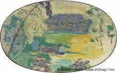 Paysage decoratif 1921 Bonnard Hule sur toile Musée d'Orsay