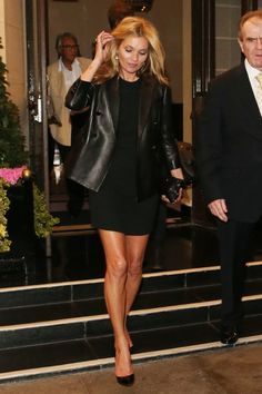 Black Midi Dress   Blush Blazer | Black midi dress and Midi dresses
