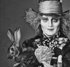 Rabbit & Johnny Depp - The Mad Hatter