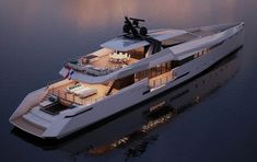 Ghost G180F is a stylish and innovative 55 metre high performance yacht.