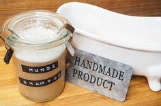 DIY Hundeshampoo selber machen | Hundeblog-Hunderosa Rezepte für Hundeleckerlis, DIY für Hunde, Hundeernährung