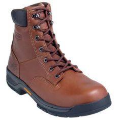 Wolverine boots mens steel toe eh brown work boots 4905 in Men Steel Toe Boots