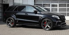 Mercedes GLE 63 Gets €20k Carbon Fiber Treatment From TopCar #Galleries #Mercedes