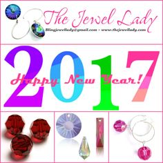 "The Jewel Lady January 2017 Newsletter ~ New Look in the New Year! ""Add-A-Gem"" Bling of the Month, Garnet Birthstone Special and Verifying your Swarovski Crystals. http://conta.cc/2iuWIE0"