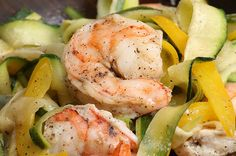 """This Zucchini """"Linguini"""" With Roasted Shrimp Should Be Your Dinner Tonight"""