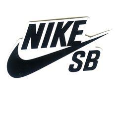 a959ca17488a3f  3.79 - Nike Sb Black White Swoosh Suitcase Skateboard Decal 9X4.5Cm Sticker  1586