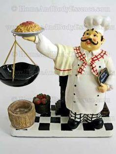 Yankee Candle Fat Chef Tart Warmer Wax Burner | Home Decor Items | , | 685185