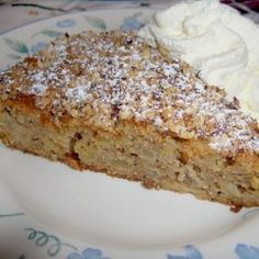 Apfel – Zimt – Nuss – Kuchen Apple – cinnamon – nut – cake, a nice recipe from the category cake. Ratings: Average: Ø – Lemon Desserts, No Bake Desserts, Banana Bread Recipes, Pumpkin Recipes, Baking Recipes, Cookie Recipes, Gateaux Cake, Food Cakes, Cinnamon Apples