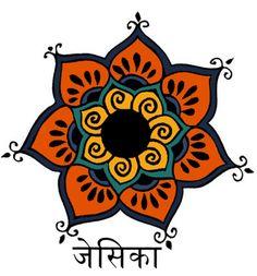Mandala-Henna Tattoo Design by ~HouseOfGimp on deviantART