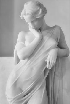 La meditazione (detail) by jerry dohnal <br /><i>Via Flickr:</i> <br />Post 1910 Luigi Secchi Cremona 1853 - Novara 1921 Marble Galleria d'Arte Moderna, Milan