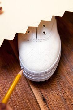 Missoni Sneakers - DIY Missoni Sneakers - Refinery29.com - Page 1