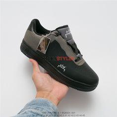 super popular f1a69 101f8 A-Cold-Wall x Nike Air Force 1 Low Black BQ6924-001