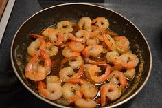 Simple Savory & Satisfying: Shrimp in an Herb Butter Sauce