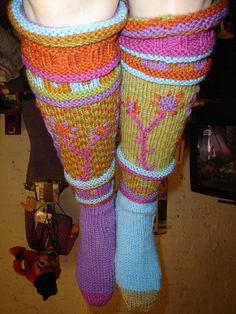 mom's birthday socks by fritznord, via Flickr