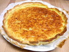 Quiche de cebolla, beicon y queso emmental   Cocinar en casa es facilisimo.com ༺✿Teresa Restegui http://www.pinterest.com/teretegui/✿༻