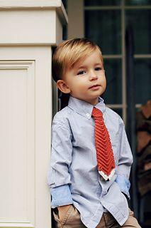 Ravelry: Fox and Stripes Tie pattern by Viktoria Gogolak