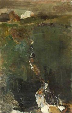 Your Paintings - Joan Kathleen Harding Eardley paintings Abstract Landscape Painting, Landscape Art, Landscape Paintings, Green Landscape, Abstract Paintings, Aberdeen Art Gallery, Gallery Of Modern Art, Art Uk, Contemporary Landscape
