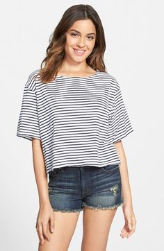 Project Social T Stripe Tee available at #Nordstrom