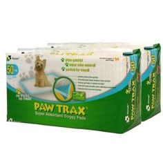 Richell PAW TRAX 100 PC Bundle Pack Doggy Pads *** For more information, visit image link.(This is an Amazon affiliate link and I receive a commission for the sales)