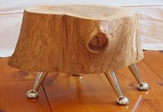 Tree Trunk Tables Are Eco-Friendly Yet Stylish | Green Design Blog