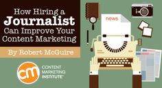 Why hiring a journalist will give you an advantage with your content marketing