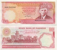. PK-40 50 Rupees (1986) (Ali Jinnah; Main gate of Lahore) ph 20.00 [Photo] [Add-to-Cart] PK-41 100 Rupees (1986) (Ali Jinnah; Islamic College Peshawar) ...