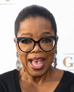Can We Talk About Oprah's Glasses For a Second?   - ELLE.com