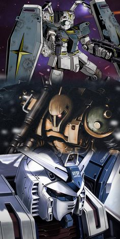 Mobile Suit Gundam Thunderbolt sample scans and images - Gundam Kits Collection News and Reviews