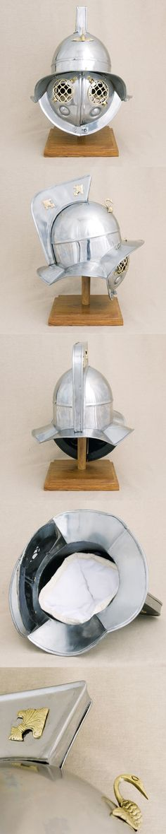 Roman Gladiator helmet, as from Pompeii 79 AD