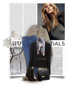 """""""Show Off Your Winter Wardrobe Staples"""" by bliznec-anna ❤ liked on Polyvore featuring Massimo Dutti, Iris & Ink, Topshop, Dsquared2, Lanvin, Gianvito Rossi and winterstaples"""