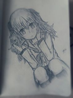 My Second Drawing Of Nao Tomori