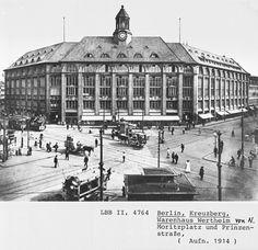Berlin Kreuzberg Moritzplatz - Kaufhaus Wertheim (by Pete Shacky, via Flickr)