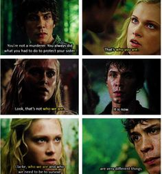 The 100 - Bellamy & Clarke <3