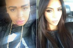 Chatter Busy: Man Spent $150,000 To Look Like Kim Kardashian (PHOTOS)