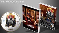 A Chefa - DVD 1 - ➨ Vitrine - Galeria De Capas - MundoNet | Capas & Labels Customizados