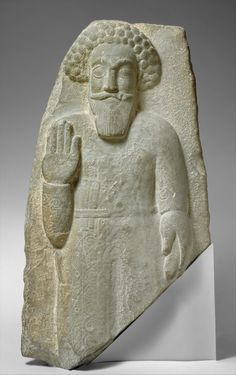 This fragmentary stone relief of a standing man is a product of the resurgence of an Eastern aesthetic in Parthian art. Standing man Period:Parthian Date:ca. century Geography:Southwestern Iran Culture:Parthian Medium:Basalt Dimensions:H. Ancient History, Art History, Iran, Perse Antique, Parthian Empire, Ancient Persian, Ancient Near East, Persian Culture, Ancient Artifacts