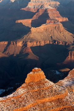 Grand Canyon Yaki Point by Clarence Holmes