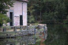 Jardines de La Granja. Casa de pesca.