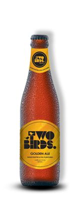 Two birds, Golden ale.  This one is really good! Refreshing fruity flavour with plenty of hops!