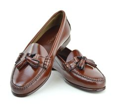 f0eead405f093 Ladies Chestnut Tassel Loafer with Leather Sole – The LaBelles